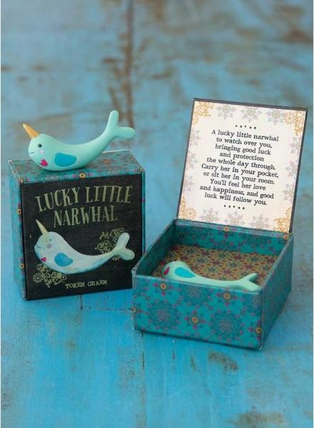 natural life natural life narwhal lucky charm