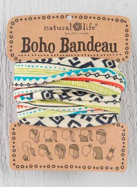 natural life natural life geometric boho bandeau