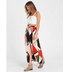 billabong honey money maxi skirt