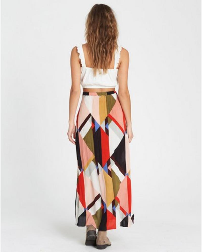 billabong billabong honey money maxi skirt