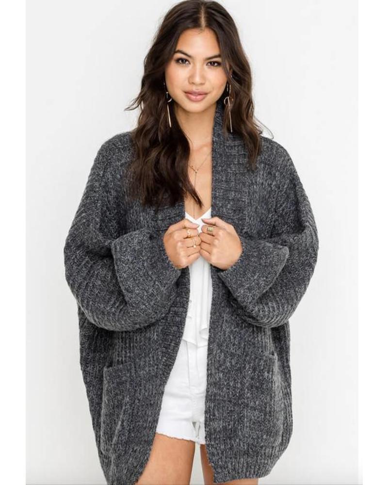 lush lush malena oversized cardigan