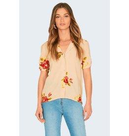 amuse society coming up roses blouse