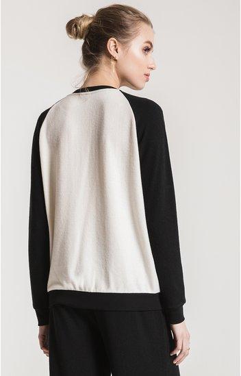 z supply z supply soft-spun knit raglan