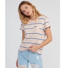 RVCA rvca big stripe pocket t-shirt