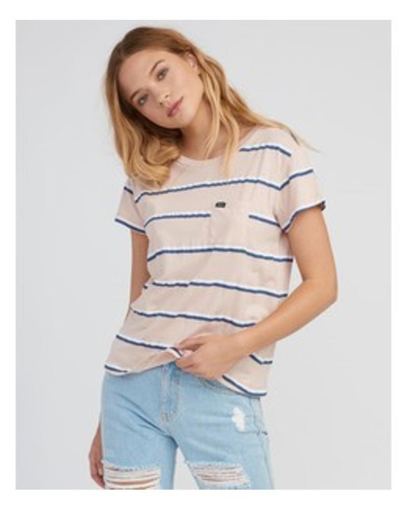 RVCA rvca big stripe pocket t-shirt