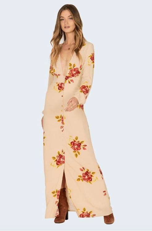 amuse society amuse society all buttoned up dress