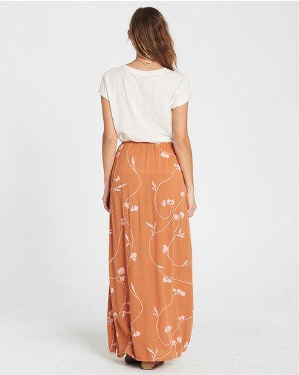 billabong billabong love trip maxi skirt