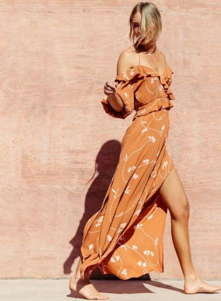 billabong love trip maxi skirt