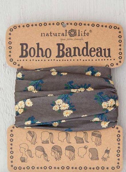 natural life cocoa daisies bandeau