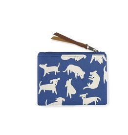 nosey dog coin pouch