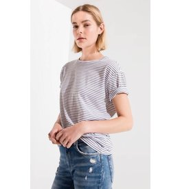 z supply striped boyfriend tee