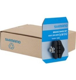 Shimano Shimano Tiagra 4600 R50T2 Road Brake Shoes, 5 Pairs