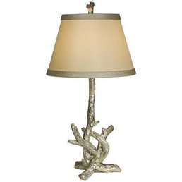 The Natural Light Silver Branch Lamp