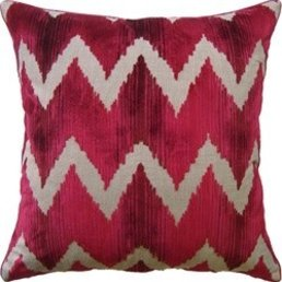 "Ryan Studio Watersedge Magenta- 22"" Square Toss Pillow"