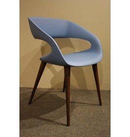 Oggetti Italian Molded Chair, Gray