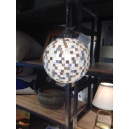Custom Mosaic Glass Pendant Light