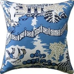 Ryan Studio Luzon Blue Pillow 22x22