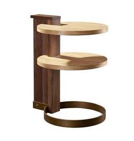 Hickory Chair Nina Side Table- Light finish