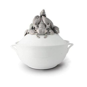 Marine Life Porcelain Tureen