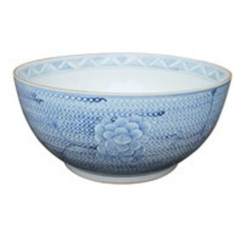 Legend of Asia Blue and White Chain Bowl