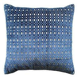 "Ryan Studio Shoridge Lapis 22""x22"" Pillow"