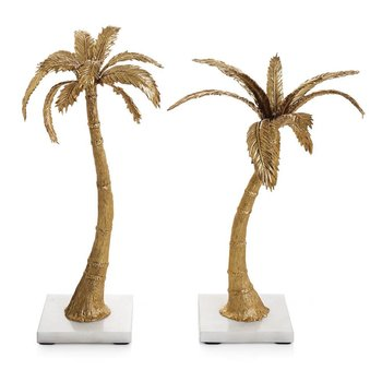 Michael Aram Palm Candle/ Pair