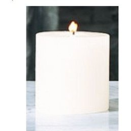 "Global Views Unscented Pillar candle 4""x4"""