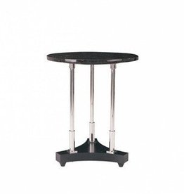 Bolier Marquina Marble Spot Table