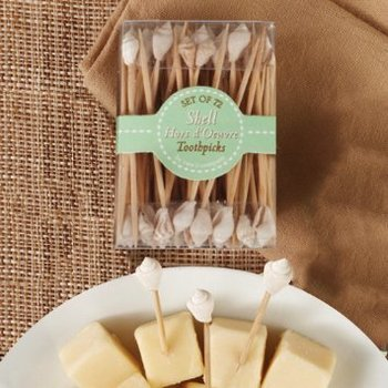 Two's Company Seashell Toothpicks