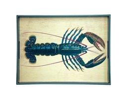 Rockflowerpaper Blue Lobster Tray- 15x20