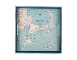 """Rockflowerpaper Cape Cod Tray 15""""sq"""