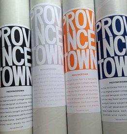 Liz Roache UNFRAMED GREY Provincetown Graphic Giclee Print