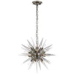 Quincy Small Sputnik Pendant- Polished Nickel
