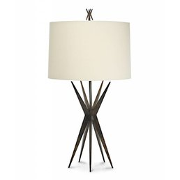 The Natural Light Starfall Lamp Bronze Finish