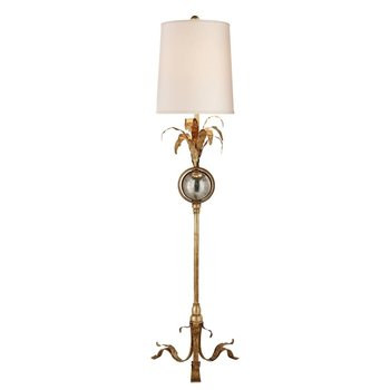 Visual Comfort Gramercy Table Lamp in Gilded Iron