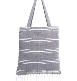 Shiraleah Ali Beach Towel in a bag- Blue
