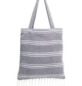 Shiraleah Ali Beach Towel in a bag- Blue