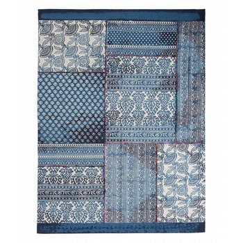 Shiraleah Mirage Rug- Indigo Blue 4x6