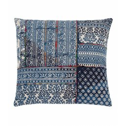 "Shiraleah Mirage Floor Pillow- Blue 30""square"