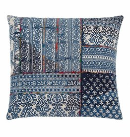 "Shiraleah Mirage Floor Pillow- Blue 30""square"