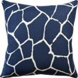 "Ryan Studio Kaliveli Navy Pillow 22""x22"""