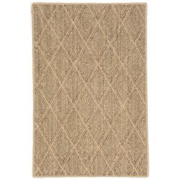 Dash & Albert Diamond Natural Woven Sisal 5x8 Rug