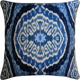 "Ryan Studio Masala Denim Pillow 22""x22"""