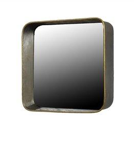 Homart Archer Galvanized Mirror Shelf- Square