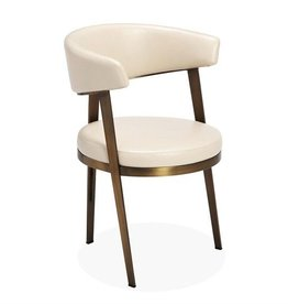 Adele Dining Chair- Cream
