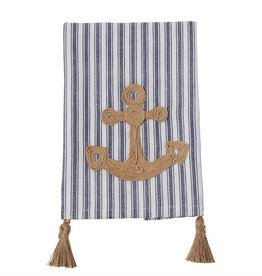 Mud Pie Rope Anchor Towel