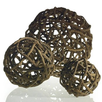 Accent Decor Akebia Vine Ball 12""