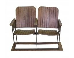 Blue Ocean Traders Two Seat Theatre Chairs