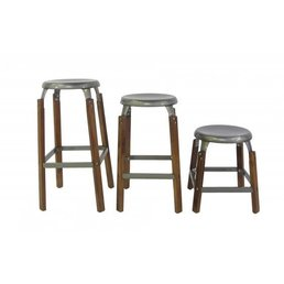 Blue Ocean Traders Taproom Counter Stool