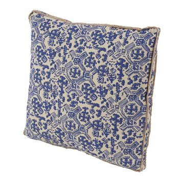 "Lacefield Designs Nomad Indigo Pillow 22"""